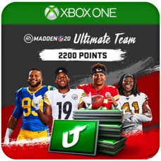 MADDEN NFL 20 ULTIMATE TEAM 2200 POINTS