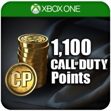1,100 CALL OF DUTY POINTS