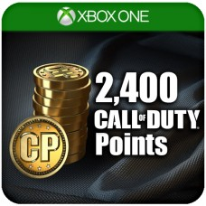 2,400 CALL OF DUTY POINTS