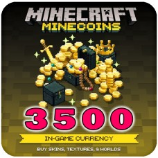 Minecraft Minecoin Pack 3500 Coins